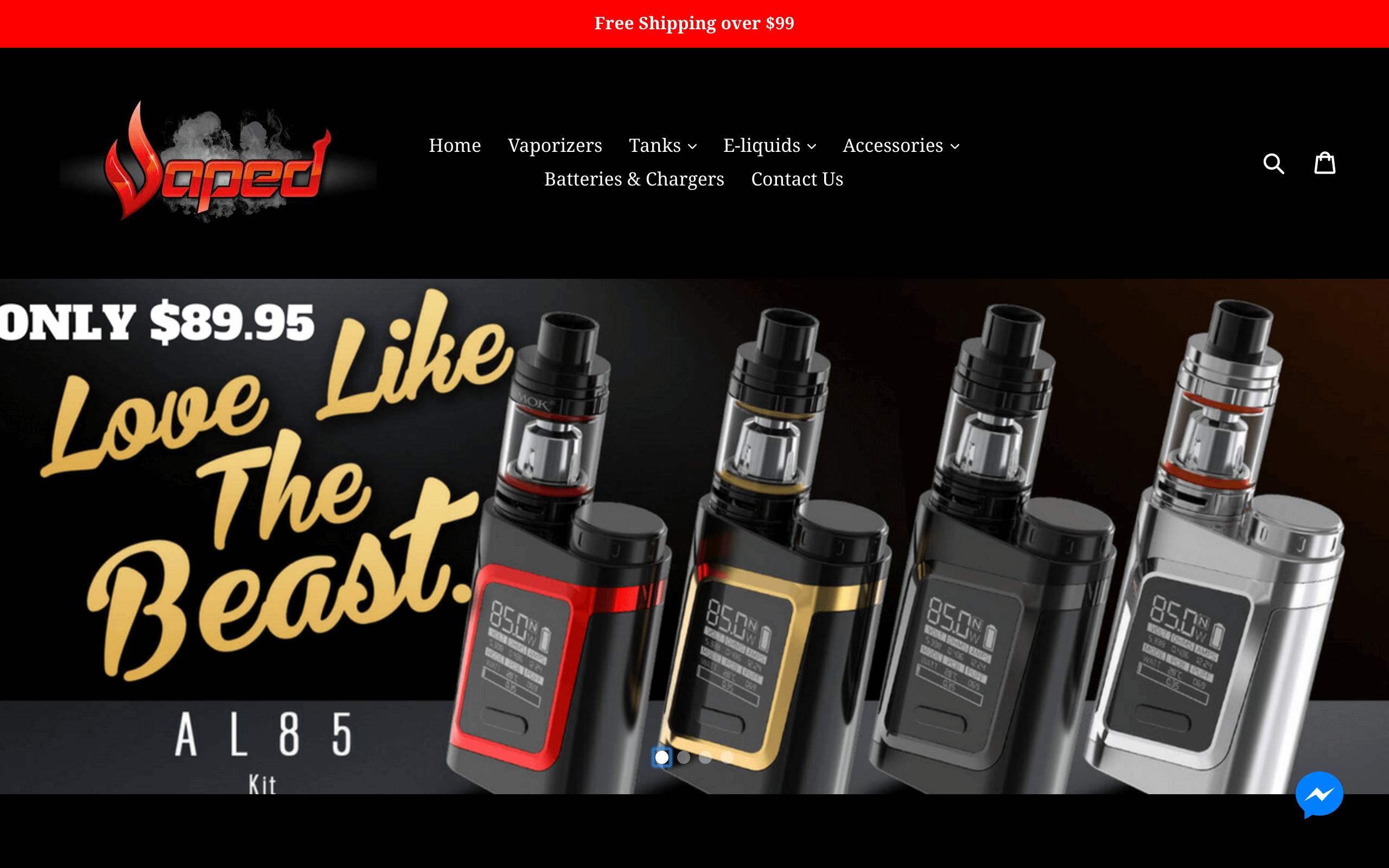 VAPED Online Store
